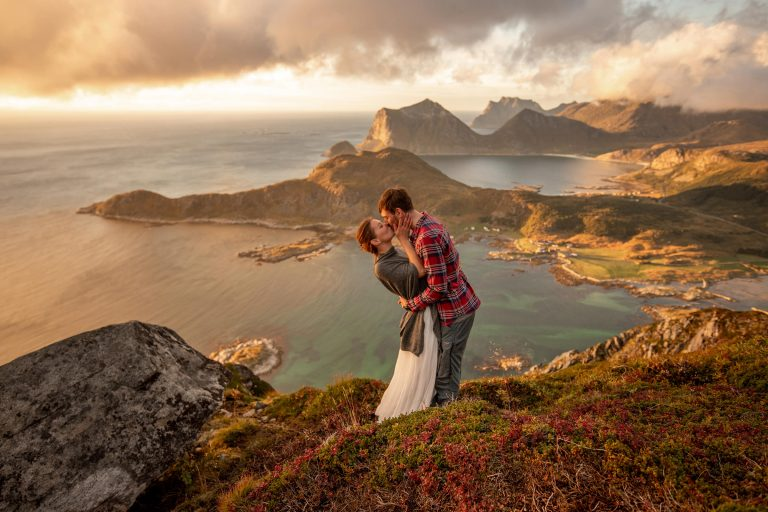 Lofoten Elopement Fotos