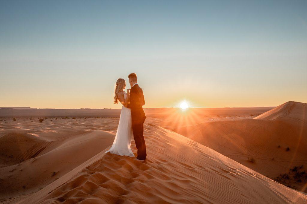 marokko hochzeit wüste
