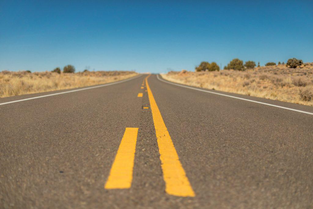 usa highway in kalifornien