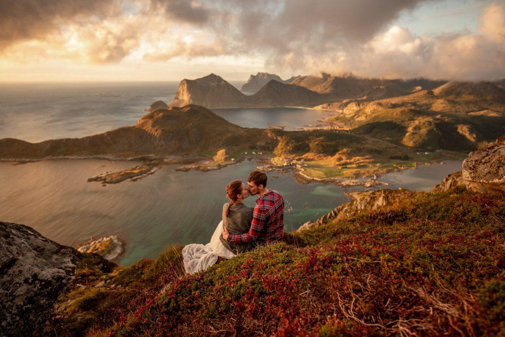 elopement auf den lofoten in Norwegen
