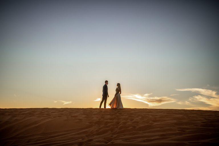 heiraten in Marokko in der Wüste