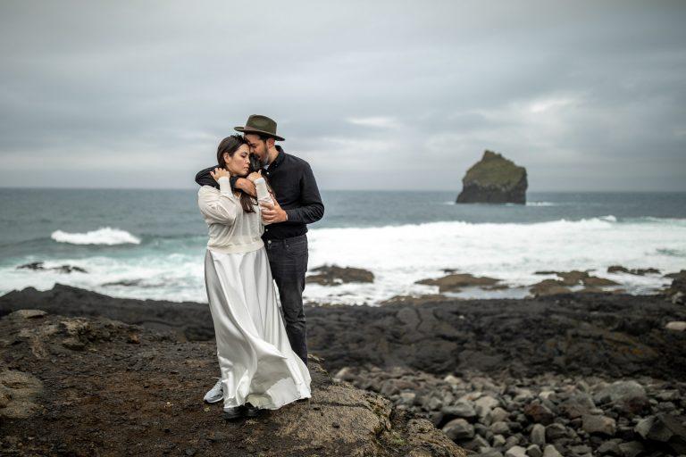 island elopement wedding