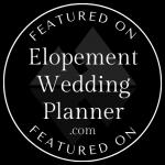ElopementWeddingPlanner.com Featured Badge